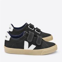 "VEJA(ヴェジャ) キッズスニーカー ""VEJA KIDS"" ESPLAR BLACK NATURAL SOLE"