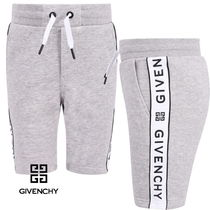 New★19ss▼GIVENCHY▼ロゴラインハーフパンツG/14y [関税込]