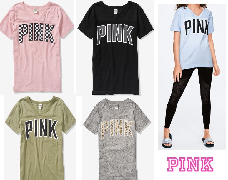 Pink 2019 Ss Short Sleeves