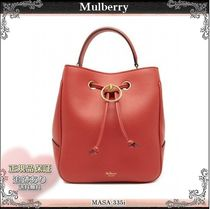 19SS☆送料込【Mulberry】 Hampstead 2WAY バケットバッグ