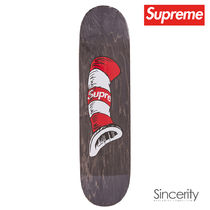SUPREME CAT IN THE HAT SKATEBOARD / BLACK