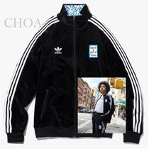 have a good time(ハブアグットタイム) ジャージ 【have a good time】 X adidas TIME VELOUR TRACK TOP コラボ
