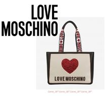 LOVE MOSCHINO♡Heart Tote Bag♡ハートトートバッグ