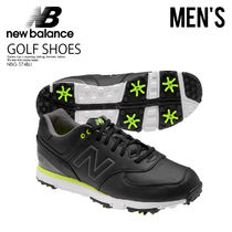 即納★希少!大人気★NEW BALANCE★NBG574 BLACK/LIME GOLF SHOES