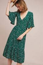 Anthropologie Floral Elegant dress