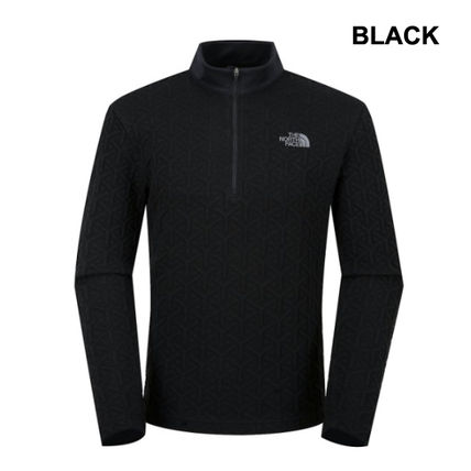 THE NORTH FACE Tシャツ・カットソー 【THE NORTH FACE】M'S CASSIOPEIA L/S ZIP TEE★日本未入荷★(2)