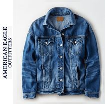 American Eagle Outfitters(アメリカンイーグル) ジャケット 定番デニムジャケット●AEO LOVERのMUST HAVEアイテム●追跡有便
