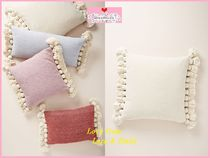 最安値保証*関送料込【Anthro】Tasseled Chenille Nadia Pillow