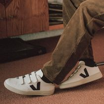 "VEJA(ヴェジャ) スニーカー ""VEJA"" V-LOCK LEATHER EXTRA WHITE BLACK"