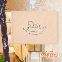 ◆HERMES◆GIFTにも Baby Cheval a Bascule フラットポーチ 33cm