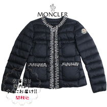 "19ss☆MONCLER""HIVE""ノーカラー軽量ダウン/12A 大人OK【関税込】"