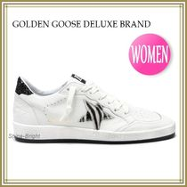 《関税込》GOLDEN GOOSE★BALL STAR ホワイト/Zebra Star