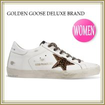 《関税込》GOLDEN GOOSE★SUPER STAR ホワイト/Leo Star