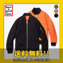★have a good time★ Apparaitre MA-1 Jacket