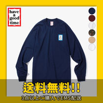 ★have a good time★ Blue Mini Frame L/S Tee