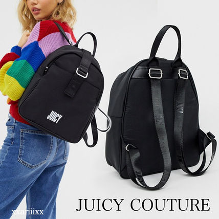 JUICY COUTURE バックパック・リュック ◆NEW◆JUICY COUTURE◆ ロゴ バックパック