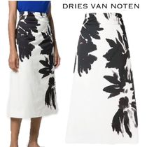 【19SS】★Dries Van Noten★Span printed skirt
