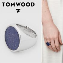 国内発送★TOM WOOD★Flush Blue Lapis Circleリング