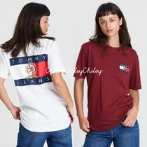 【Tommy Jeans】Crest Flag Tee/ロゴTシャツ