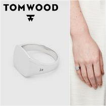 国内発送★TOM WOOD★Mini Signet Cushionリング