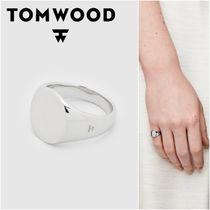 国内発送★TOM WOOD★Mini Signet Ovalリング