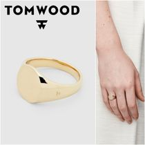 国内発送★TOM WOOD★Mini Signet Oval リング