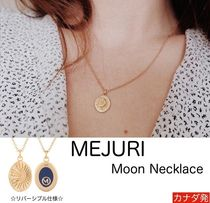 MEJURI メジュリ ネックレス Moon Necklace Gold Vermeil ムーン