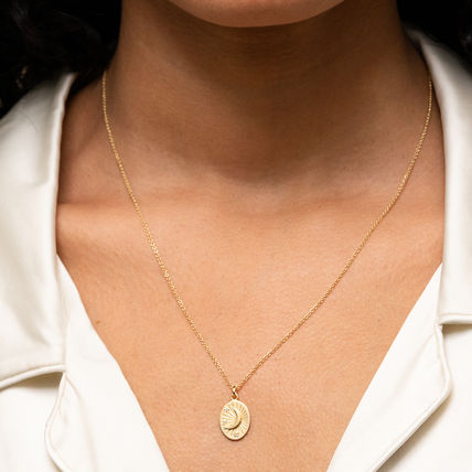 MEJURI ネックレス・ペンダント MEJURI メジュリ ネックレス Moon Necklace Gold Vermeil ムーン(5)
