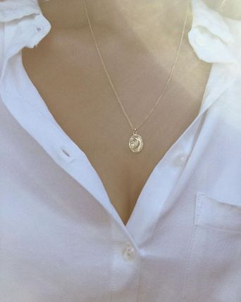 MEJURI ネックレス・ペンダント MEJURI メジュリ ネックレス Moon Necklace Gold Vermeil ムーン(9)