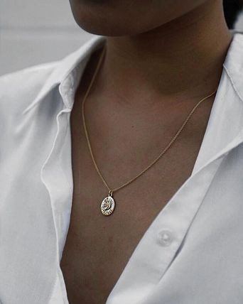 MEJURI ネックレス・ペンダント MEJURI メジュリ ネックレス Moon Necklace Gold Vermeil ムーン(15)
