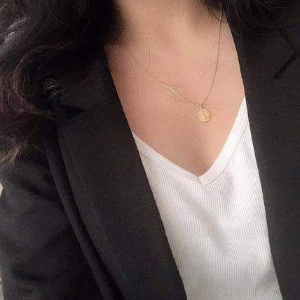 MEJURI ネックレス・ペンダント MEJURI メジュリ ネックレス Moon Necklace Gold Vermeil ムーン(17)