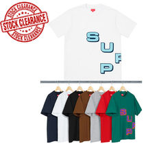 ★在庫一掃セール★SUPREME18FW Stagger Tee WHITE M