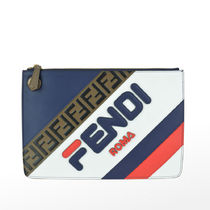 19SS★Fendi Roma Medium Triplette Clutch Bag  関税/送料込