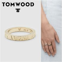 国内発送★TOM WOOD★Structure Goldリング