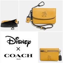 日本未発売【Coach】Envelope Key Pouch With Mickey キーケース