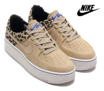 ☆国内正規品☆NIKE W AIR FORCE 1 SAGE LO PRM DESERT ORE