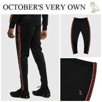 OCTOBERS VERY OWN(オクトーバーズ ベリー オウン) パンツ 【Drake愛用】2019年最新作☆OVO ACE PIQUE TRACK PANT
