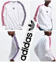 Adidas 大人気 3-Stripe Long Sleeve Tee