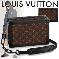 19SS Louis Vuitton レザー ソフトトランク チェーン モノグラム