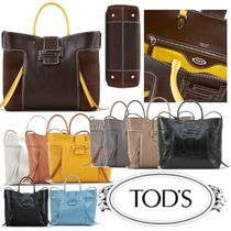 TOD'S(トッズ) トートバッグ TOD'Sトッズ直営◆ハンドバッグ[DoubleT Shopping Grande]◆10色