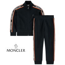 New★MONCLER サイドロゴ上下tracksuit  12/14A大人OK【関税込】