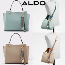 ALDO*清楚*スタイリッシュ*パイソン柄チャーム付*2WAY/Viremma
