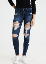 American Eagle Outfitters(アメリカンイーグル) デニム・ジーパン [AEO] [SALE] [Women] Denim distroid jogging pants