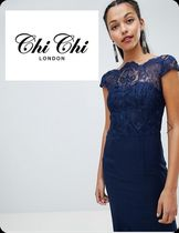 関税・送料込み!Chi Chi Londonpremium lace maxi dress