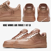 NIKE★WMNS AIR FORCE 1 '07 LX★メタリック★ROSE GOLD