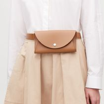 """COS""DETACHABLE LEATHER BELT BAG COGNAC"
