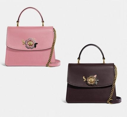 3b16182b3361 Coach ショルダーバッグ・ポシェット Coach ◇ 52265 Parker top handle with tea rose stones  ...