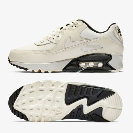 Nike スニーカー NIKE★WMNS AIR MAX 90 SE★HAVE A NIKE DAY★PALE IVORY(3)