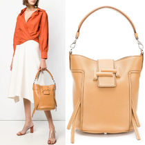 T325 DOUBLE T BUCKET BAG SMALL