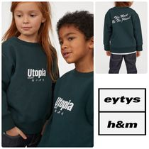 【日本完売】EYTYS x H&M Cotton Sweatshirt (Kids)